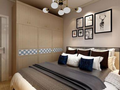 成都汇都商贸城 欧式风格二居室装修设计