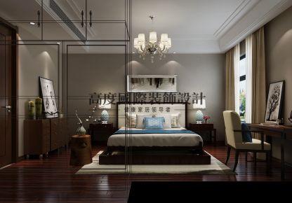 成都麓山国际因特拉肯新中式风格平层装修设计案例