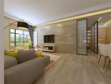 洛阳国宝华府  北欧风格二居室装修设计欣赏