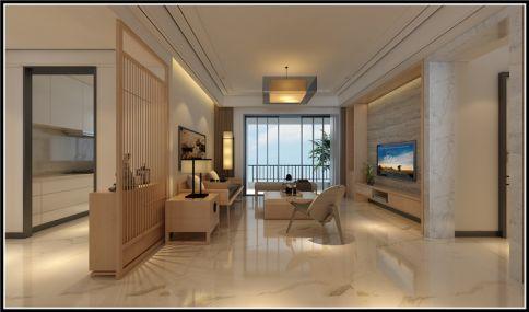 成都怡翠晋盛花园 新中式风格三房装修设计