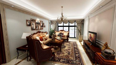 宁波欧式风格家庭装修设计欣赏 星光御墅小区