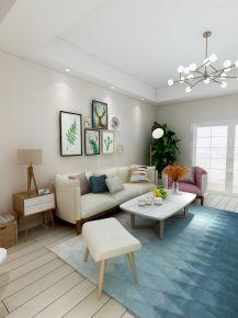 宁波北欧客厅和现代卧室装修效果图
