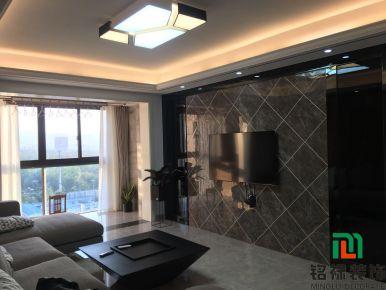 金华现代风格三居室装修设计效果图 凤凰城小区