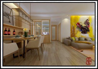 洛阳国宝华府 欧式风格三房装修设计案例