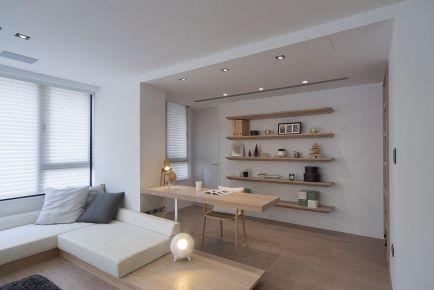成都保利锦湖林语 现代风格三居室装修设计效果图