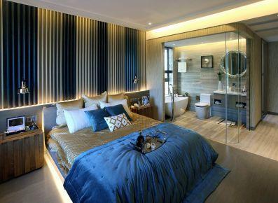 成都国防家苑 地中海风格三居室装修设计
