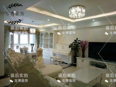 北京建邦华府 简欧风格三居室装修效果图欣赏