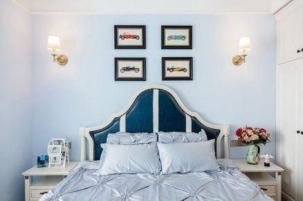中山汉基花园 地中海风格两房装修设计效果图