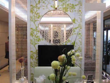 140平中式风格雅居装修 茂名市御花园样板间