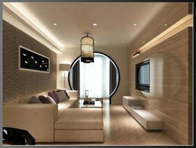 贵阳100平新中式风格雅居装修设计 大营坡中大国际