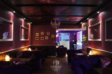 贵阳紫色回忆红酒吧装修