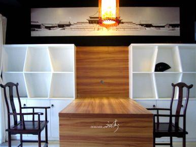 贵阳中式风格办公室装修设计  世纪城龙吉苑