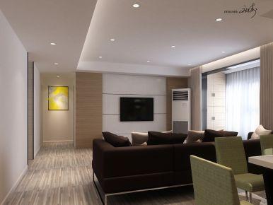 贵阳130平现代风格雅居装修设计 小河元琦林居