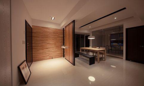 中山北欧风格三房装修设计欣赏 蓝天金地