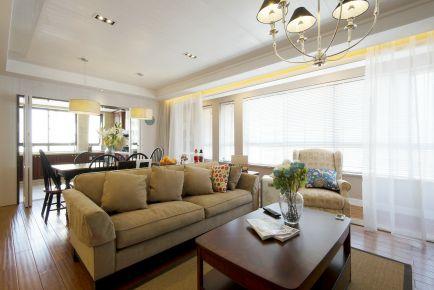 中山美式风格家庭装修设计-远洋香缇