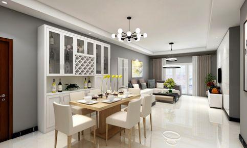 南京简约风格三房装修设计 威尼斯水城小区