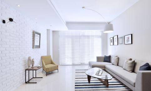 中山小清新风格三居室装修设计 中澳滨河湾