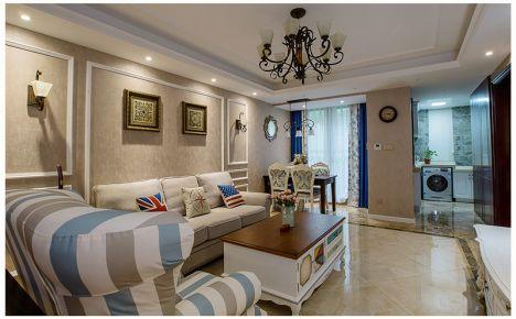 成都海伦印象美式风格家庭装修设计