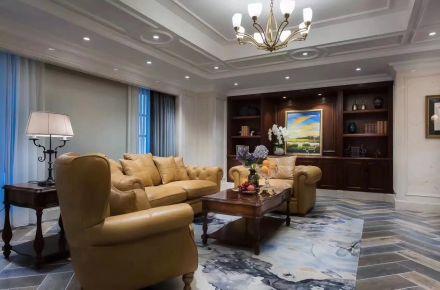 成都法式新古典500平别墅装修实景案例