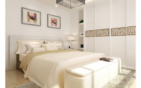 成都鹭洲国际 现代风格三房装修设计效果图