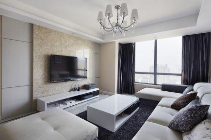 贵阳和谐家园  现代简约三居室装修设计