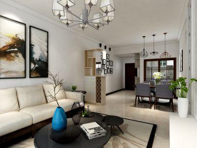 中山映翠豪庭 现代风格两房装修设计效果图