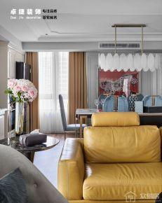宁波欧式风格三房装修设计效果图 凯旋门小区