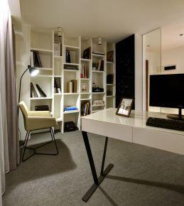 温州现代简约四房装修设计效果图 欧洲城小区