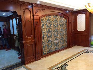 扬州法式古典复式楼装修设计 锦苑世家小区