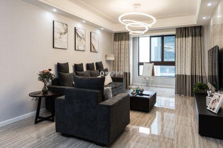 重庆融景城|102平四居室|现代风格|实景案例图