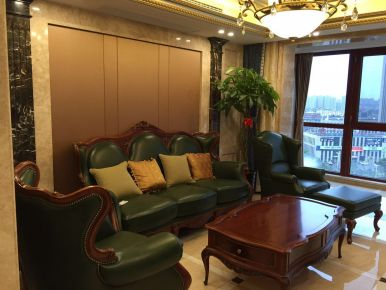 扬州欧式风格别墅装修设计 运河一号小区