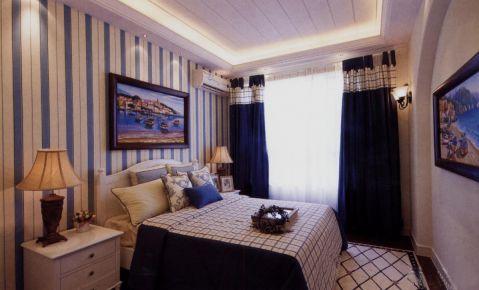 武汉浪漫地中海风格家庭装修设计--保利心语