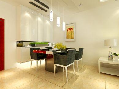 天津金地格林 100平现代风格家庭装修