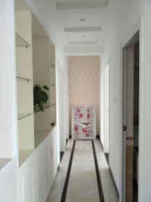 武汉欧式风格二居室装修--名湖豪庭