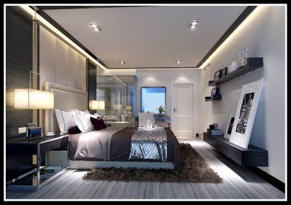 佛山现代风格三房装修设计效果图 凯德城脉小区