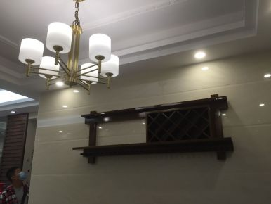 佛山中式风格三房装修案例欣赏 海纳豪庭小区