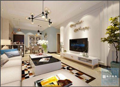 贵阳元琦林居—现代风格112平米三房装修设计