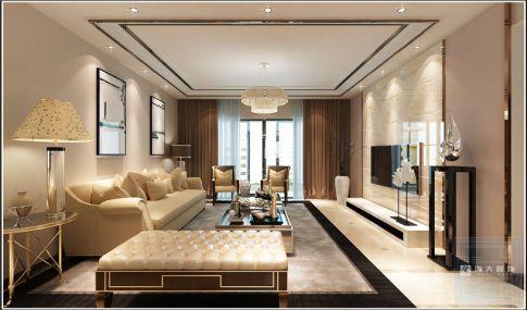 贵阳观山小区—现代风格173平米装修效果图