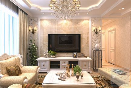 贵阳花果园—欧式风格98平米家庭装修