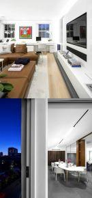 苏州中央公园城 现代风格两房装修设计