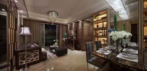 成都龙湖九里晴川 120平法式风格家庭装修设计