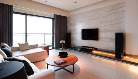 武汉名湖豪庭--日式风格两房装修设计效果图