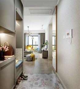 石家庄90平米创意混搭风格两房装修   紫金悦城小区
