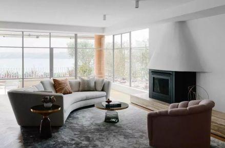 温州北欧极简风格室内装修设计 翡翠公馆