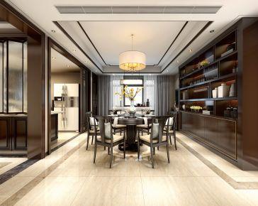 中山新中式风格四房装修效果图欣赏