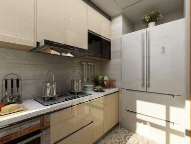 中山海湾城6期--现代风格四房装修设计欣赏