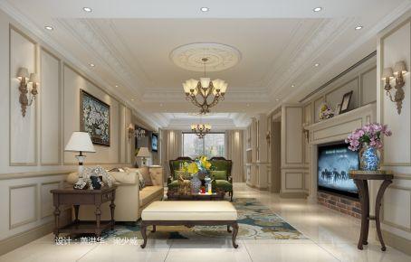 中山美式风格三房装修设计效果图欣赏  追求精致.所以极致