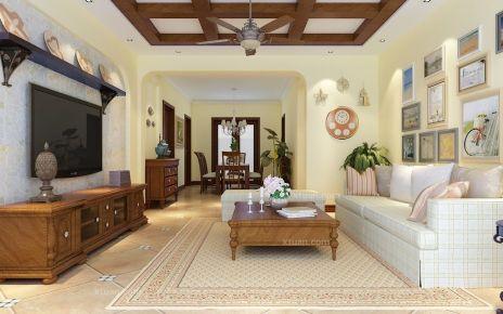 福州地中海风格四居室装修设计效果图