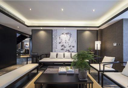 山东临沂自建别墅新中式风格装修设计欣赏