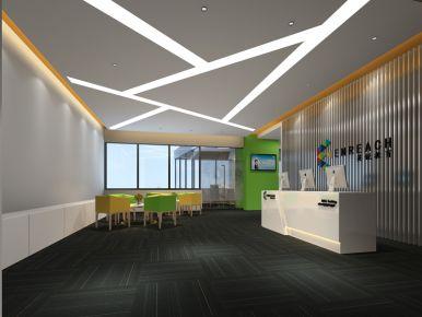 深圳简约风格办公室装修设计效果图欣赏